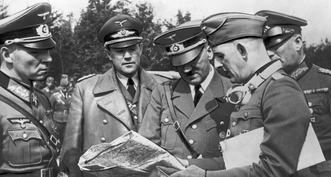 Фюрер и вермахт