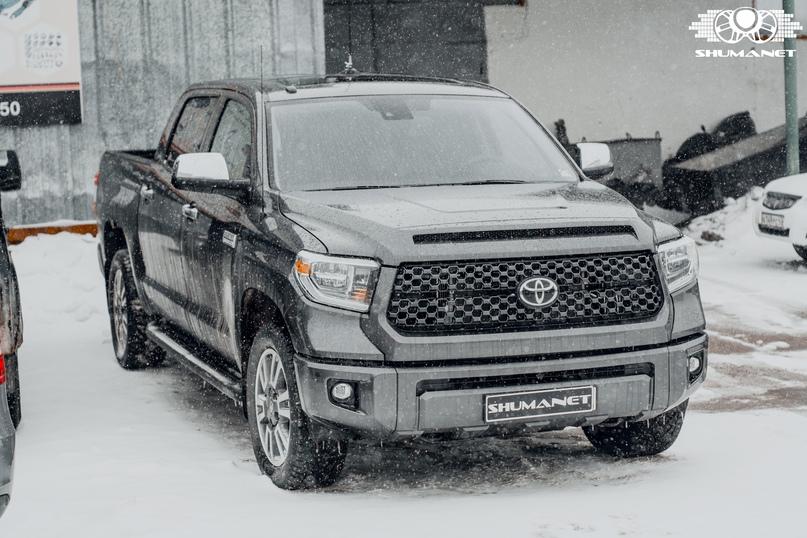 Комплексная шумовиброизоляция Toyota Tundra., изображение №1