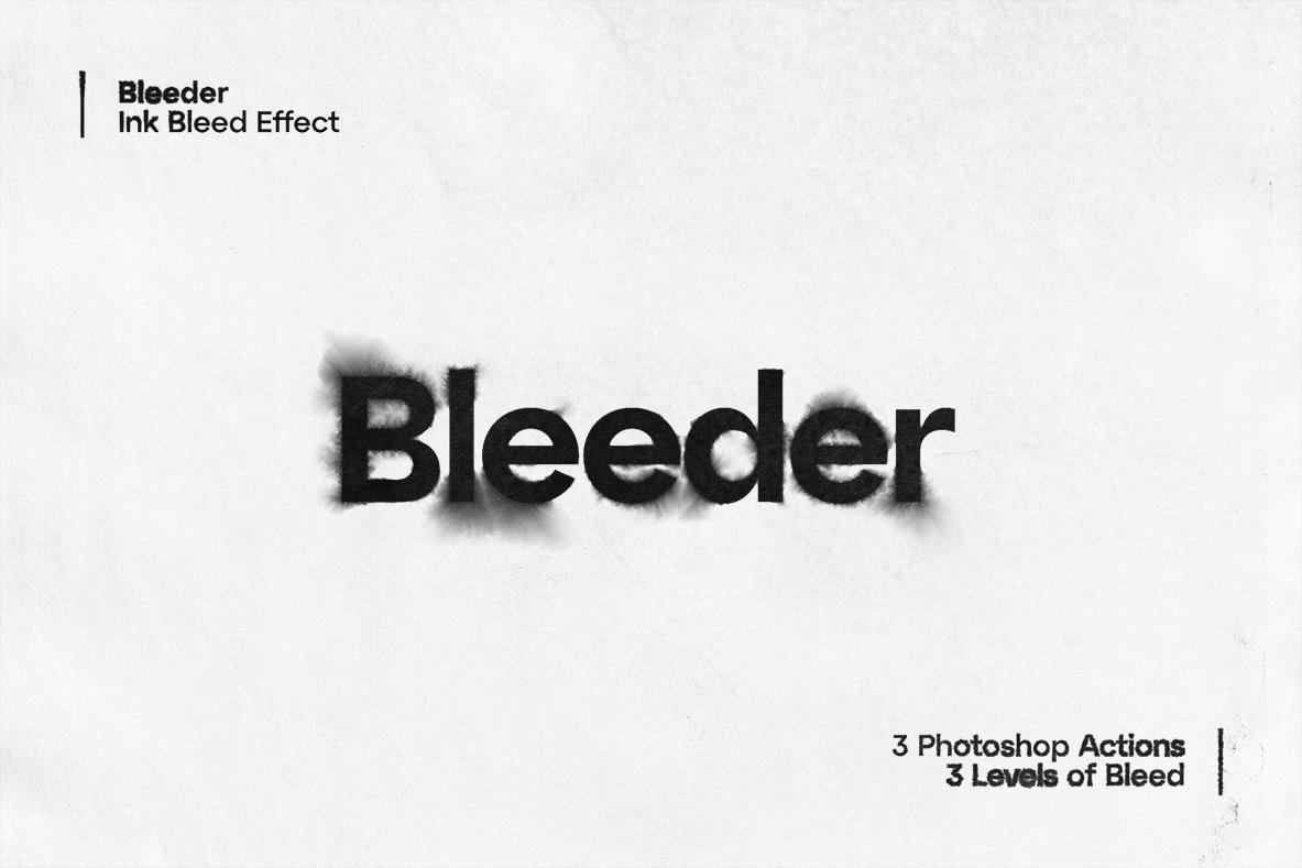 Bleeder - Ink Bleed Effect