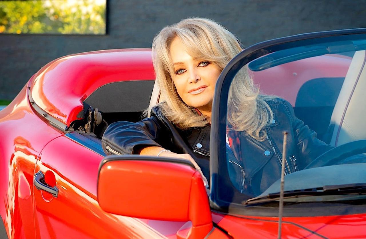 """Bonnie Tyler в программе """"Рок-Просвет""""."""