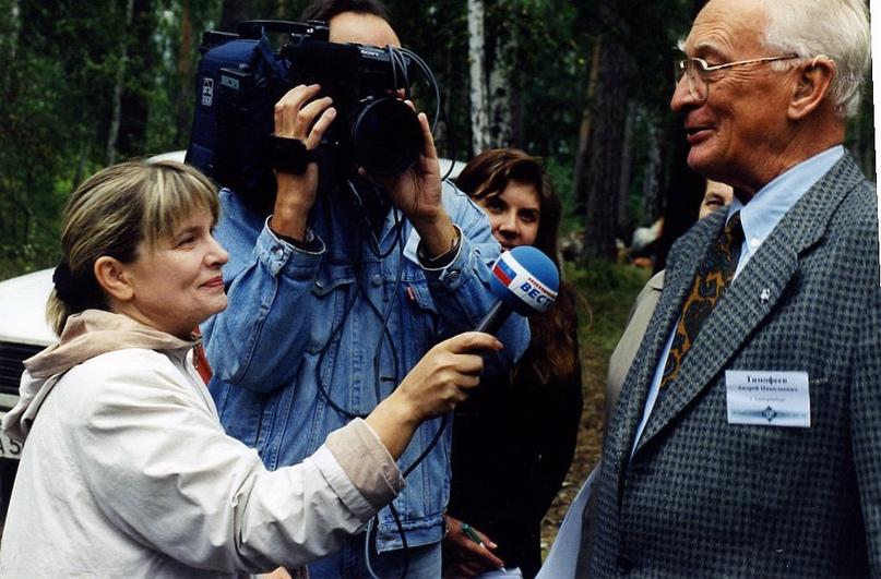 Фото: «Интервью с сыном Зубра(Тимофеев-Ресовский мл.)»