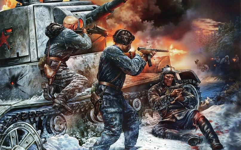 Первые бой танкистов 1941. 30 ТД., изображение №1