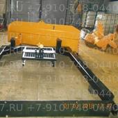 Отвал бульдозерный механический поворот (с проставкой) для трактора ДТ-75, 1 гц подъема