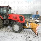 Отвал бульдозерный гидроповоротный для трактора МТЗ-2022