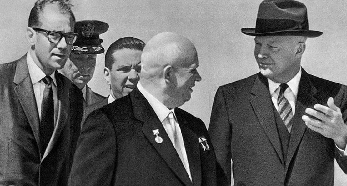 Хрущев и Эйзенхауэр
