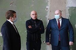 Игорь Артамонов посетил с рабочей поездкой Елец