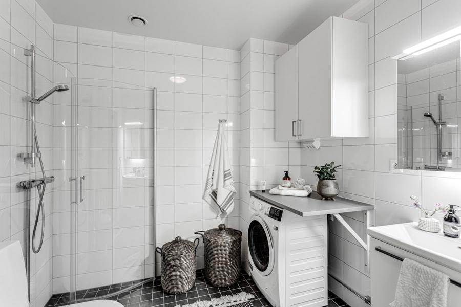Интерьер скандинавской квартиры-студии 39 кв.