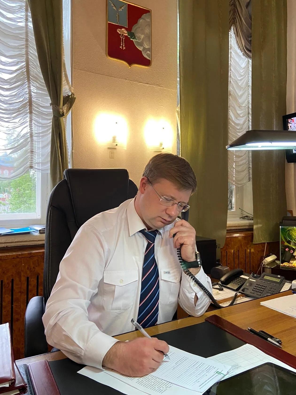 Глава Петровского района Денис Фадеев провел личный приём жителей