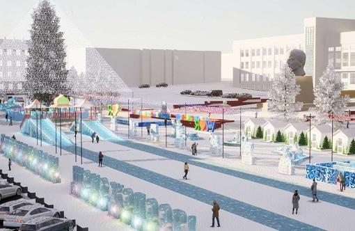 В Улан-Удэ на новогодний городок выделили почти 7 млн.  Строительство планируют завершить до 20 декабря  На сайте... Улан-Удэ