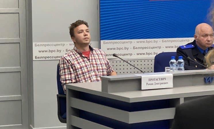 Протасевич назвал СИЗО наиболее безопасным для себя местом