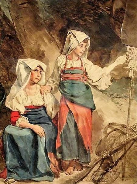 Карл Па́влович Брюллов (Брюло́в) (до 1822 года  Брюлло; 12  декабря 1799, Санкт-Петербург, Россия  11  июня 1852, Манциана, Папская область)  русский художник, живописец, монументалист, акварелист, представитель классицизма и романтизма.