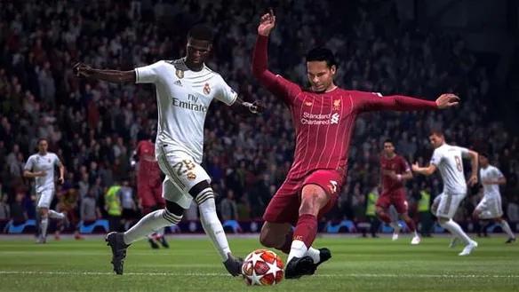 Перехват мяча FIFA 21