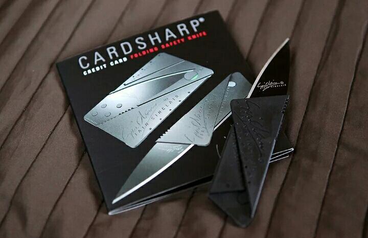 Складной нож-кредитка CardSharp 2 Подарок   Объявления Орска и Новотроицка №23950
