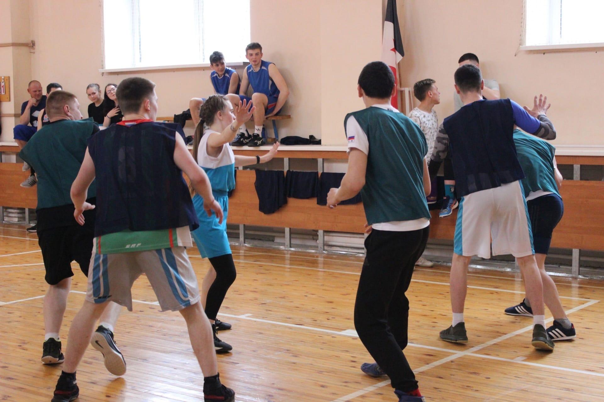 «Суточный баскетбол » в селе Пычас в