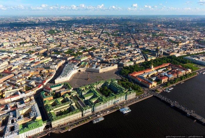 Из каких островов состоит Петербург