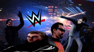 Hunt Down The Freeman but it's a WWE Match