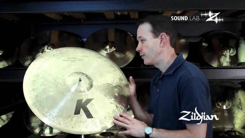 Zildjian Sound Lab - 22 K Custom Dark Complex Ride