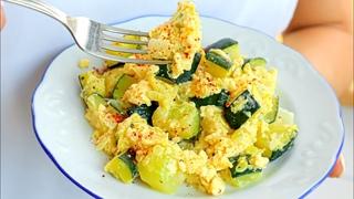 Zucchini Rezept, das meine Großmutter immer gemacht hat! Lecker! Gesund! Einfaches Kochen!