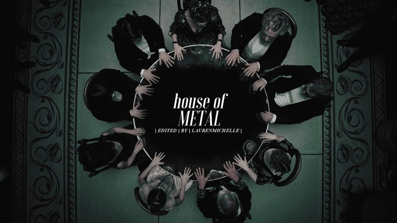 Slytherin Aesthetics • House Of Metal