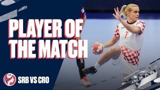 Player of the Match | Dora Krsnik | SRB vs CRO | Preliminary Round | Women's EHF EURO 2020