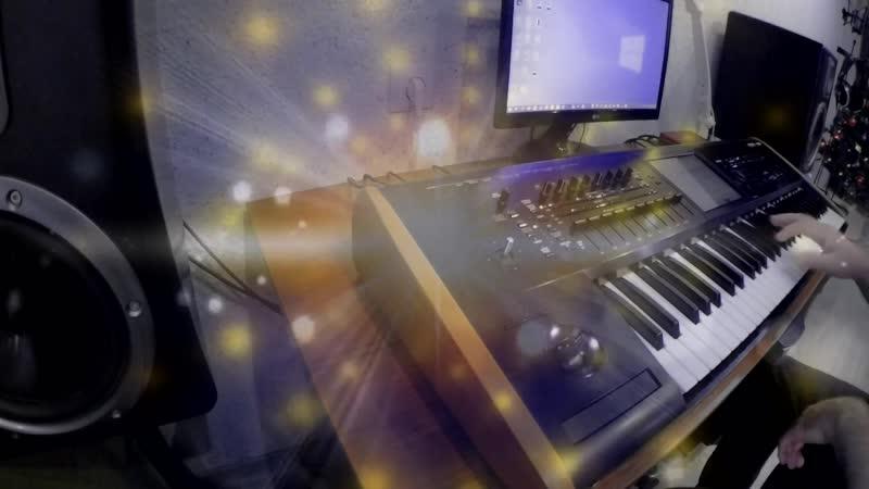 гр Анонс Оля и Спид на синтезаторе Корг Кронос 2