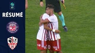 TOULOUSE FC - AC AJACCIO (2 - 2) - Résumé - (TFC - ACA) / 2021-2022
