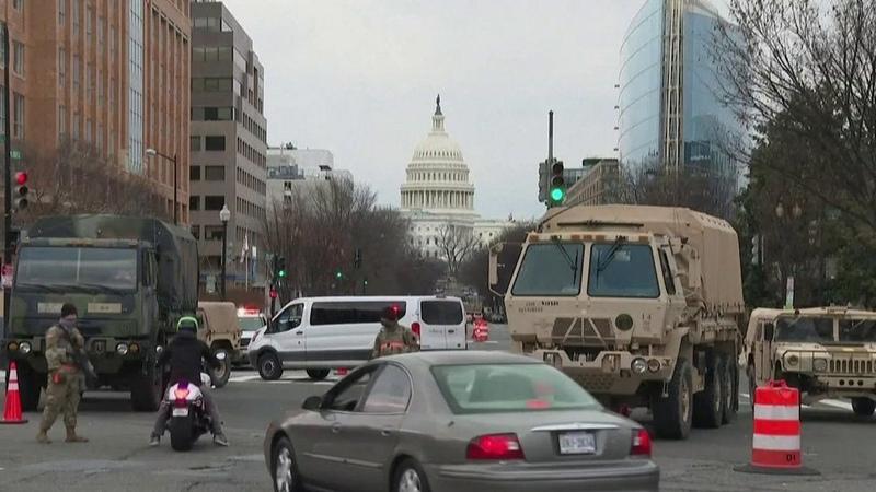 Вашингтон перешел наосадное положение задень довступления вдолжность Джо Байдена