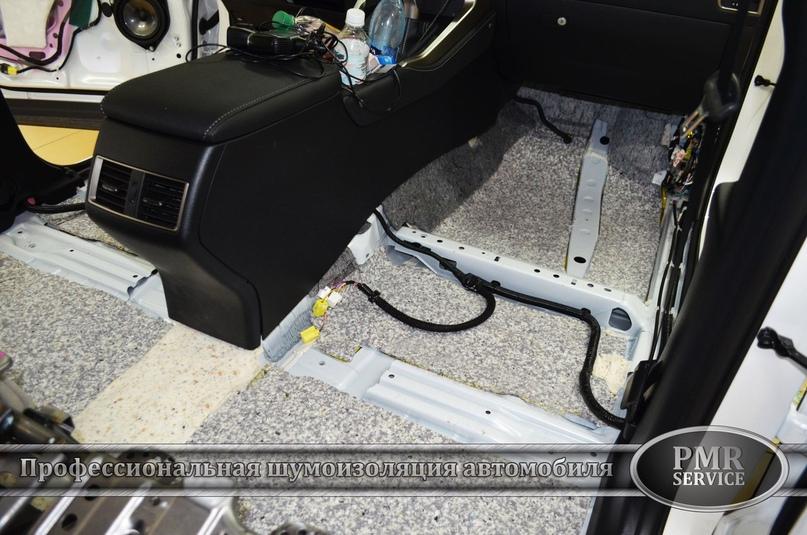 Комплексная шумоизоляция Lexus NX 200, изображение №4