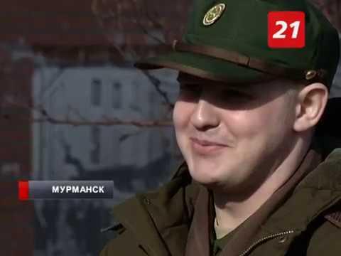 В Мурманске призывников торжественно проводили в армию