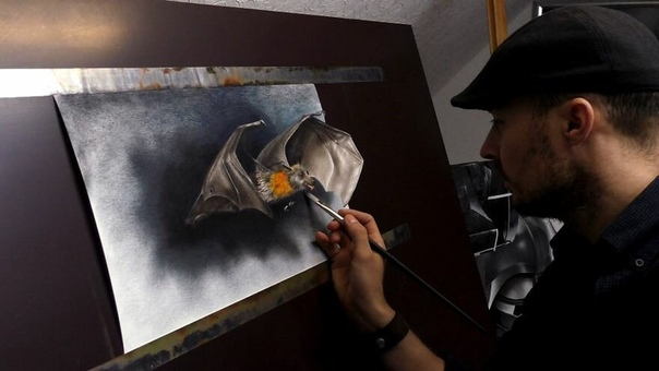 Стефан Пабст это человек, который совершил определенную революцию в современном художественном искусстве Бдучи еще совсем молодым художником Стефан начал свой творческий путь, рисуя портреты