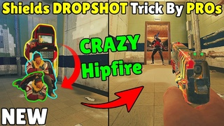 *NEW* Pro Players DROP SHOT with Blitz/Montagne Trick  - Rainbow Six Siege Crystal Guard