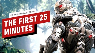 Crysis Remastered: The First 25 Minutes of PC Gameplay