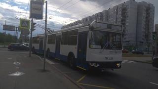 Троллейбус, маршрут №25 ТролЗа [62052В] б.6909 () Санкт-Петербург