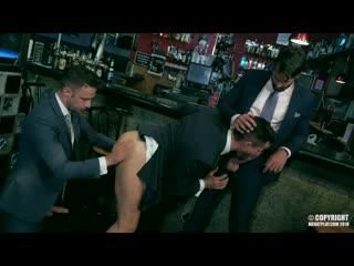 DRESS CODE - Dani Robles, Damon Heart, Kris De Fabio | Gay Porn