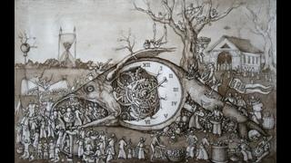 мои наручные мужские часы РАКЕТА  Вечный календарь