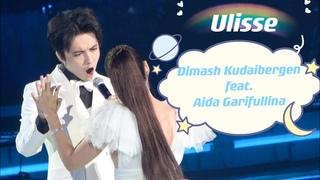 [Fancam 4K] Dimash feat. Aida Garifullina - Ulisse   Igor Krutoy Jubilee Creative Evening in Moscow