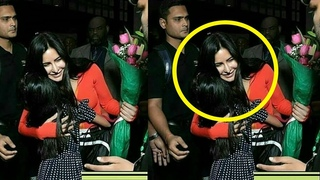 Dabangg Reloaded - Katrina Kaif HUGS A Little Fan At The Chicago Airport