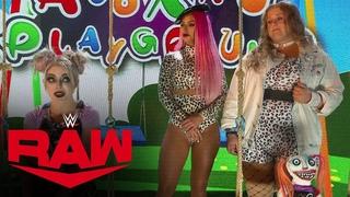 #video@alexablissdaily | Eva Marie & Doudrop interrupt Alexa's Playground: Raw, July 19, 2021