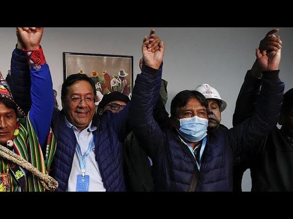 Боливия на президентских выборах лидирует сторонник Моралеса…