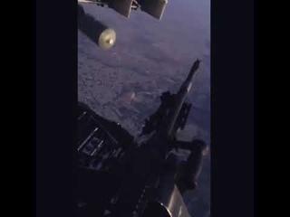 Ирак. Бомбардировка с вертолёта