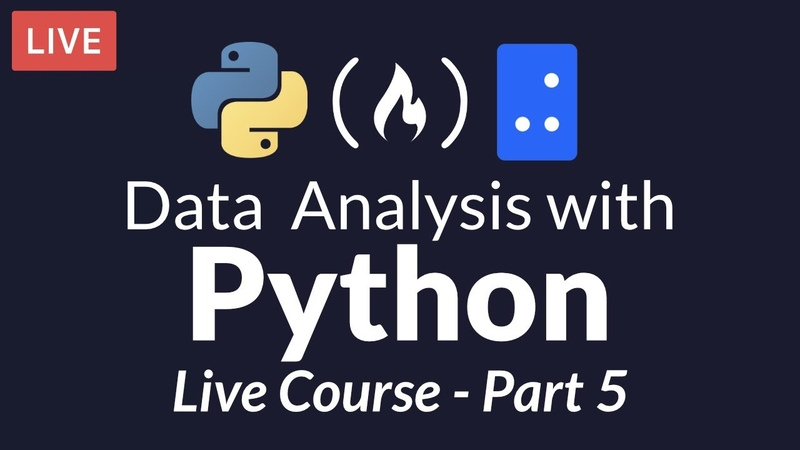 Data Analysis with Python Part 5 of 6 - Visualization with Matplotlib and Seaborn (Live Course)