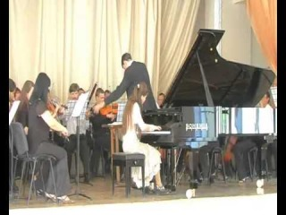 Julinoza (Julia Zaporozhets)  Tchaikovsky concerto #1 2009