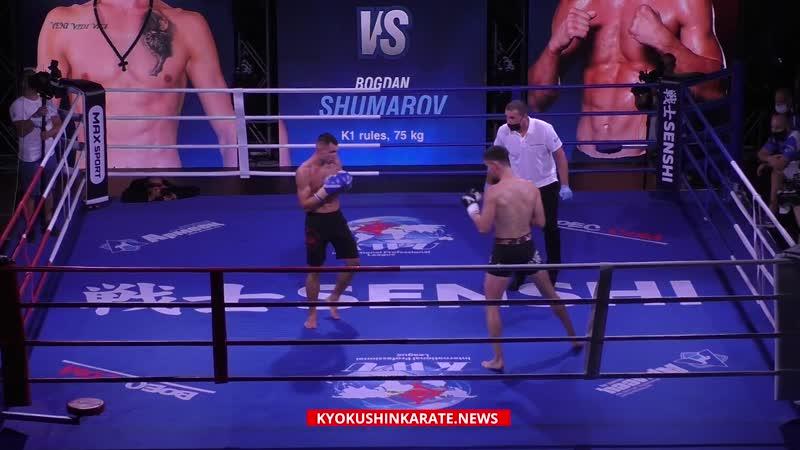 SENSHI 6 Milos Bajovic Serbia Bogdan Shumarov Bulgaria