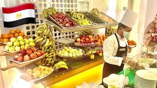 ШВЕДСКИЙ СТОЛ В ЕГИПТЕ 🔥 Горы фруктов! Обед в отеле Desert Rose. Туристов очень много!
