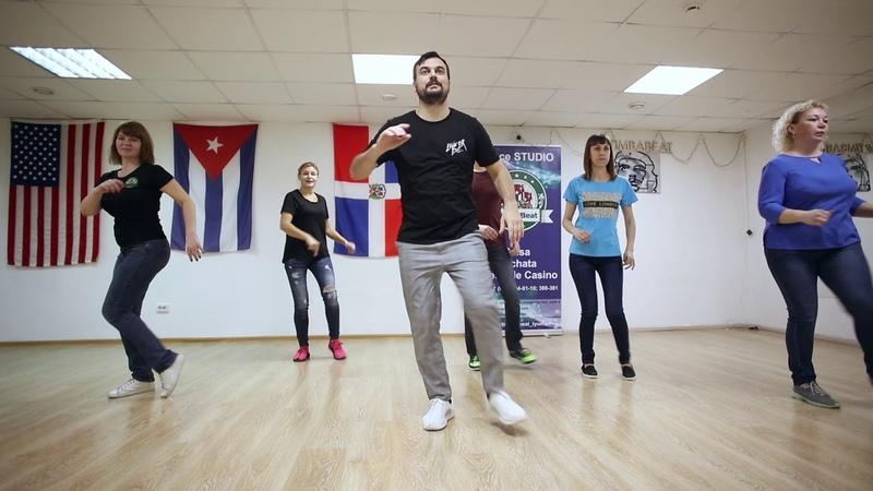 Учим базовые движения латиноамериканских танцев