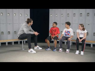 Kids Foot Locker x adidas - Joakim Noah Says the Joakimiest Things to Kids - Ep 1 Secret to Success
