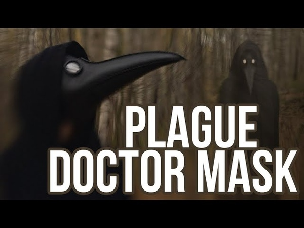 How to make Plague Doctor Mask Leathercraft tutorial Leather Mask DIY
