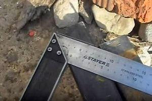 Калитка из металлопрофиля своими руками – схема + порядок выполнения работы, изображение №27