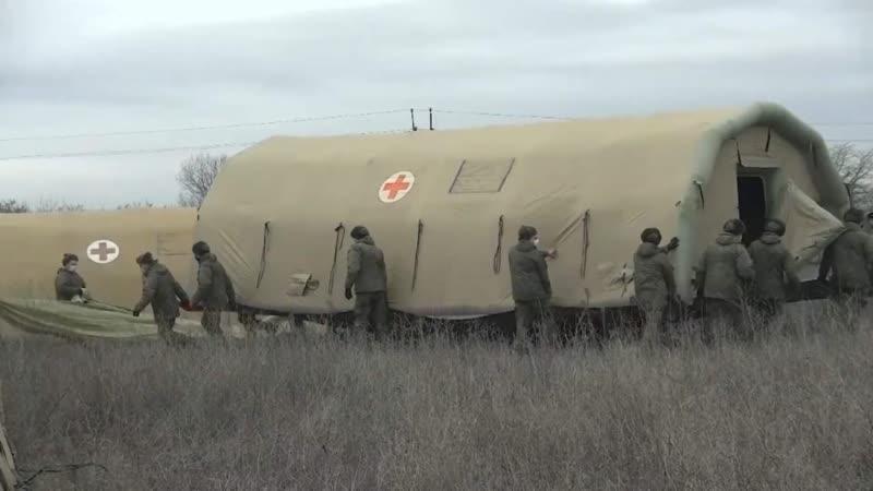 Коронавирус в Крыму военный госпиталь в Ялте принял первых пациентов власти ужесточили ограничения