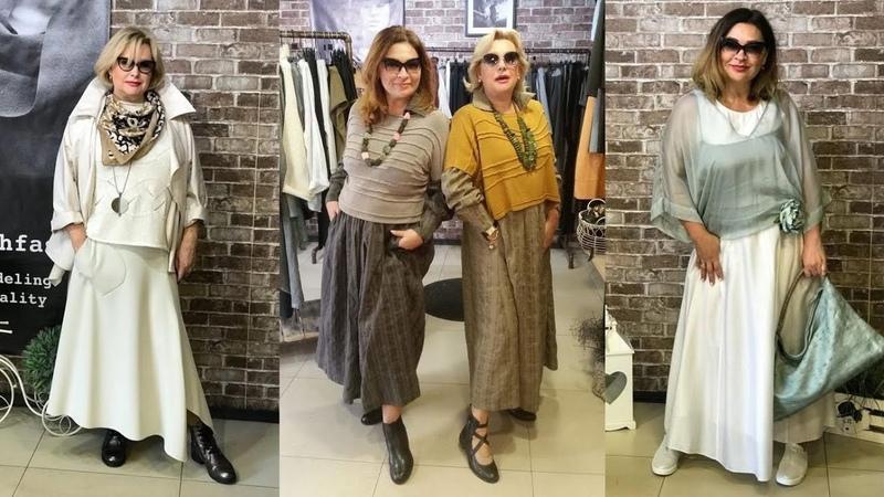 Бохо стиль 2019 для женщин 50 60 лет Модная женская одежда на каждый день для дам старше 50